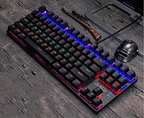 Td tasti blu tastiera meccanica tastiera