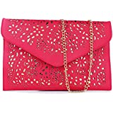 Women's Evening Clutch Bags Party Wedding Purses Envelope Clutches Gold Chain Bag for Women