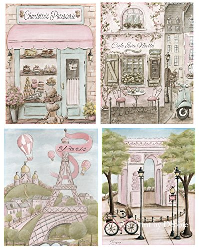 Paris Bedroom Decor Personalized, Vintage,