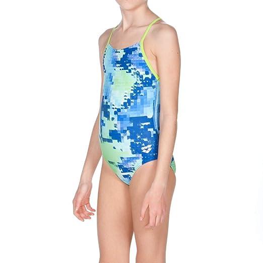 6ea0c9b0b670e Amazon.com : arena Girls Challenge Back One Piece Swimsuit : Clothing