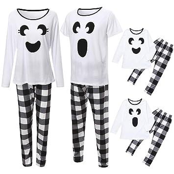 Amazon.com: cnnIUHA conjuntos de pijamas familiares, Navidad ...