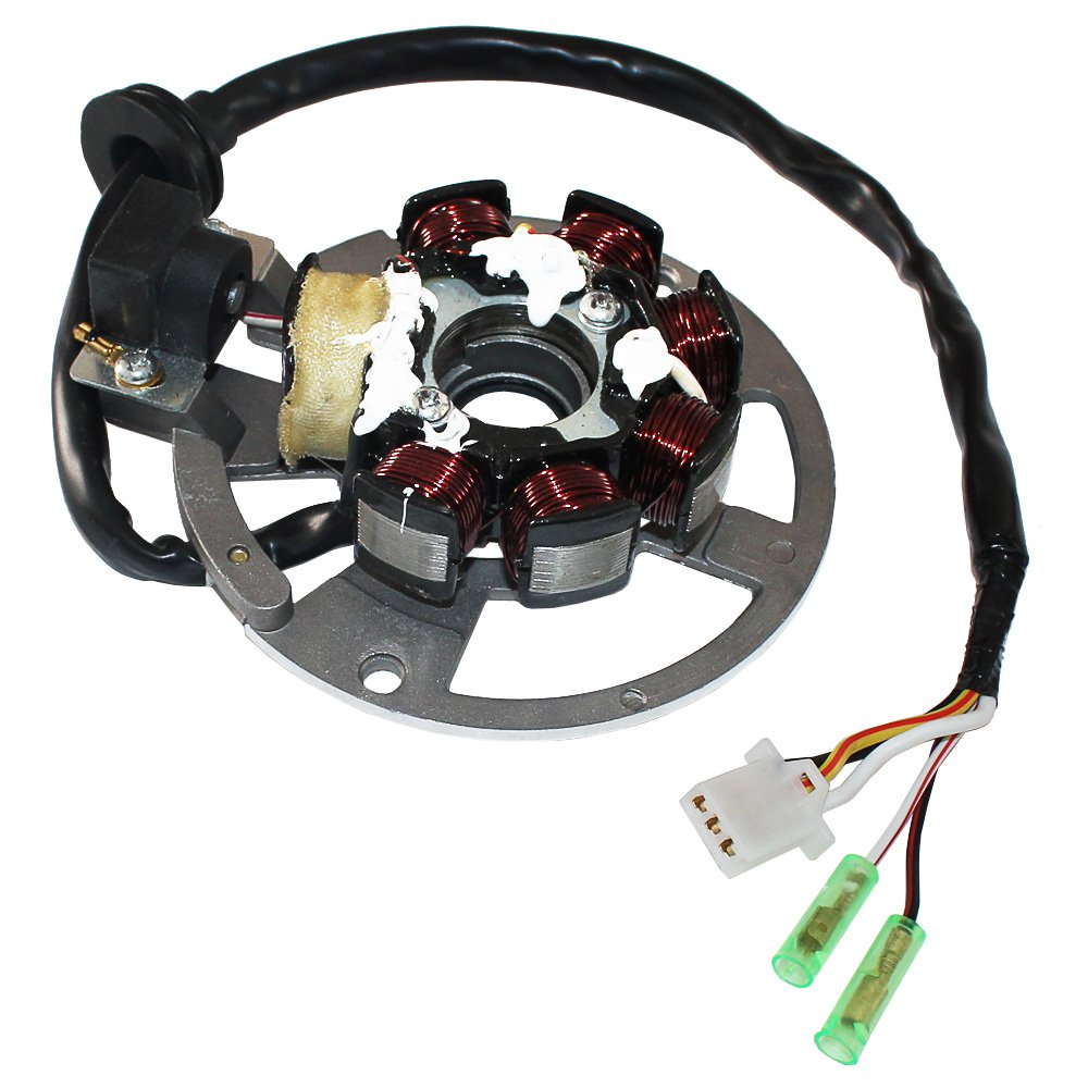 Eton 90cc 4 Wheeler Wire Diagram 32 Wiring Images Impulse 50cc Atv Sl1000 Amazon Com Caltric Stator Fits 50 Txl Thunder