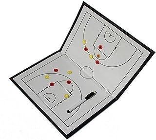 Ogquaton 1pcs Prime Basketball Conseil Tactique Pliable entraîneur magnétique Conseil Conseil entraînement équipement d'aide pour Le Volley-Ball de Football etc.