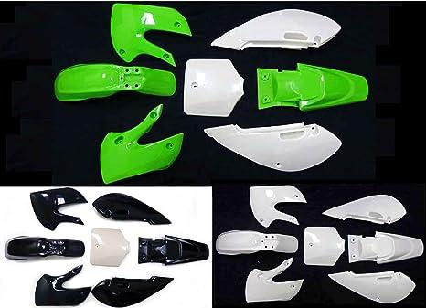 Amazon com: Fairing Kit Plastic Fender for Kawasaki KLX110 KX65 KLX