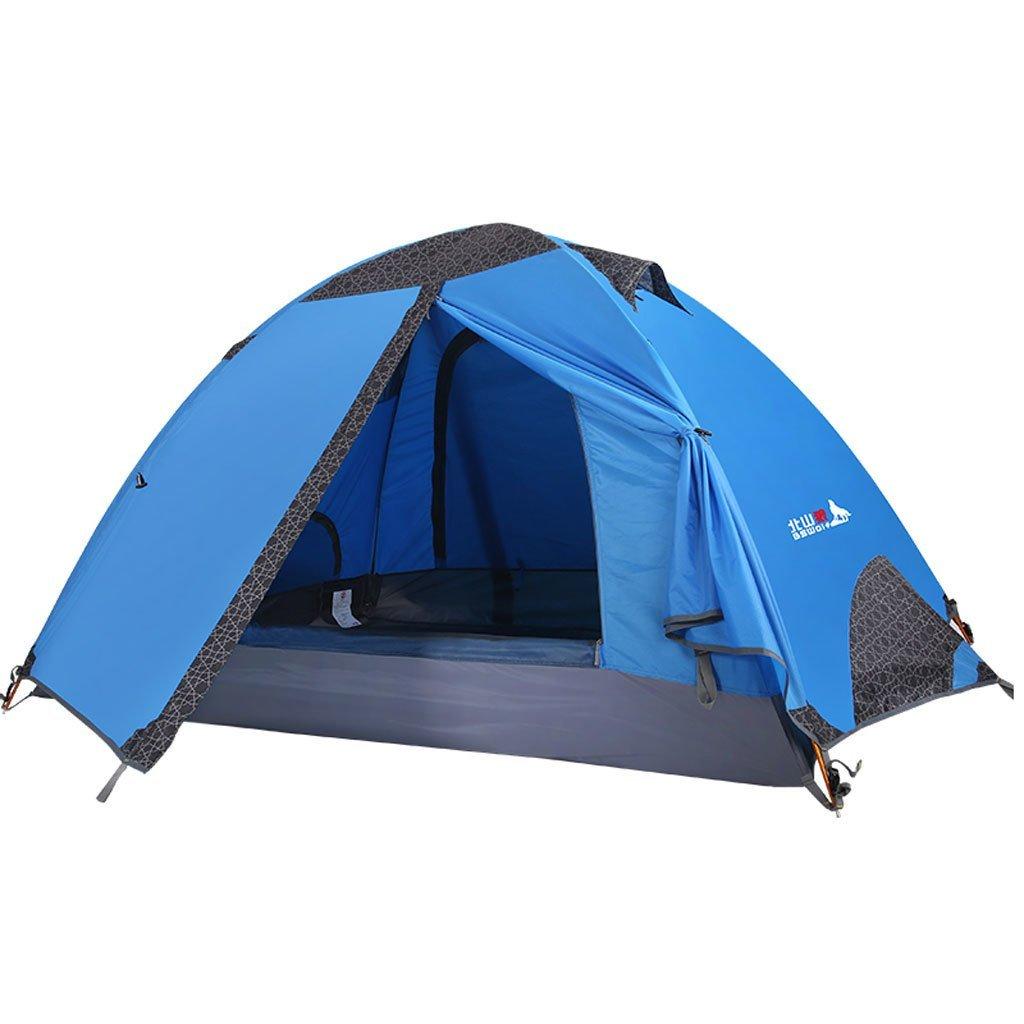 Double Double Outdoor-Camping-Zelte reisen Zelte mehr als Outdoor-Zelt gegen Sturm