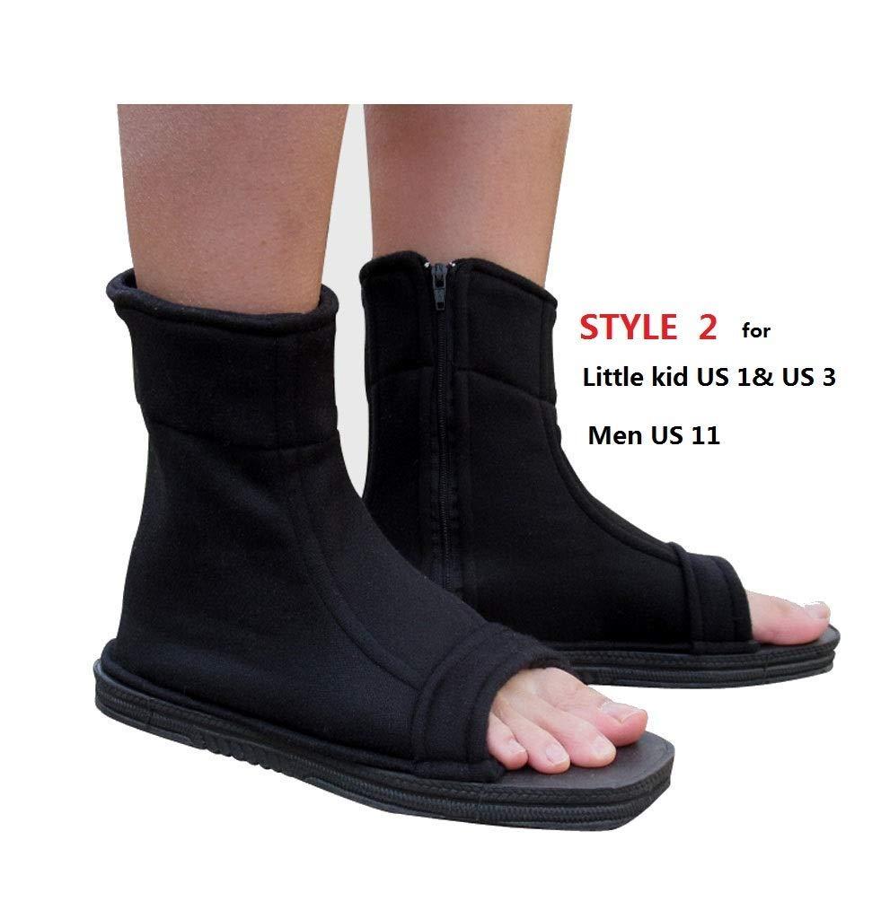DAZCOS Negro Shippuden Ninja Zapatos (Mujer US 5): Amazon.es ...