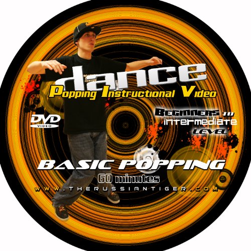 Basic Popping Dance DVD   Hip Hop & Street Dance Series (60 Min.)