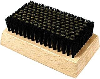 product image for Gordon Brush G1308 Fine-Filament Wood Block Brush.005 Brass/Horse Hair