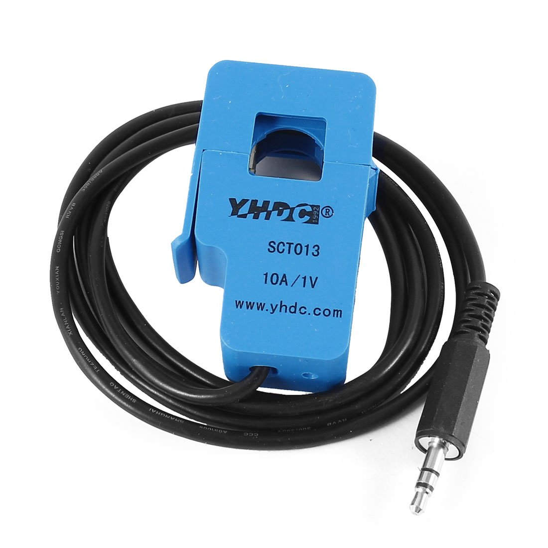 uxcell SCT-013-010 1M 3.5mm Output Cord Split-core Current Transformer 10A 1V
