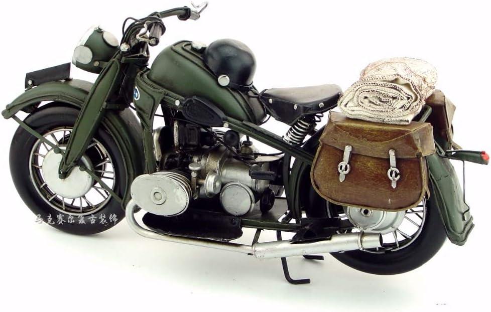 Art De Fer JJLESUN3 Motif De Moto Classique Antique R/étro Vintage Forg/é D/écoration Cr/éative