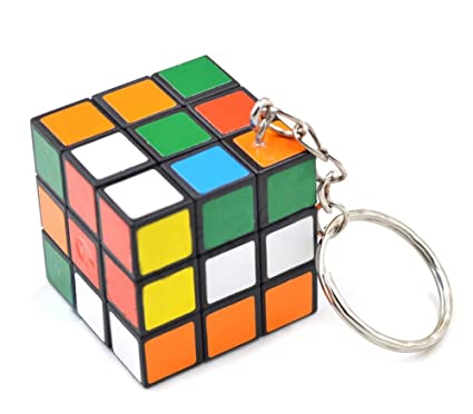 Llavero cubo tipo Rubik 3x3 regalo original: Amazon.es ...