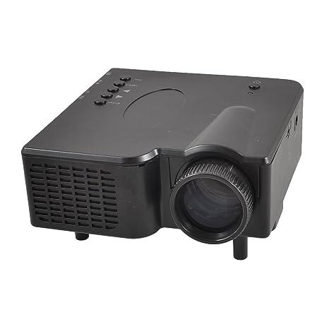 GP-1 LCD LED Multimedia Home TV del juego de DVD Proyector Negro ...
