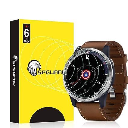 HATALKIN Screen Protector Compatible with Garmin Legacy Hero Series Screen Protector 40mm Smartwatch HD LiQuidSkin Film [6 Pack]