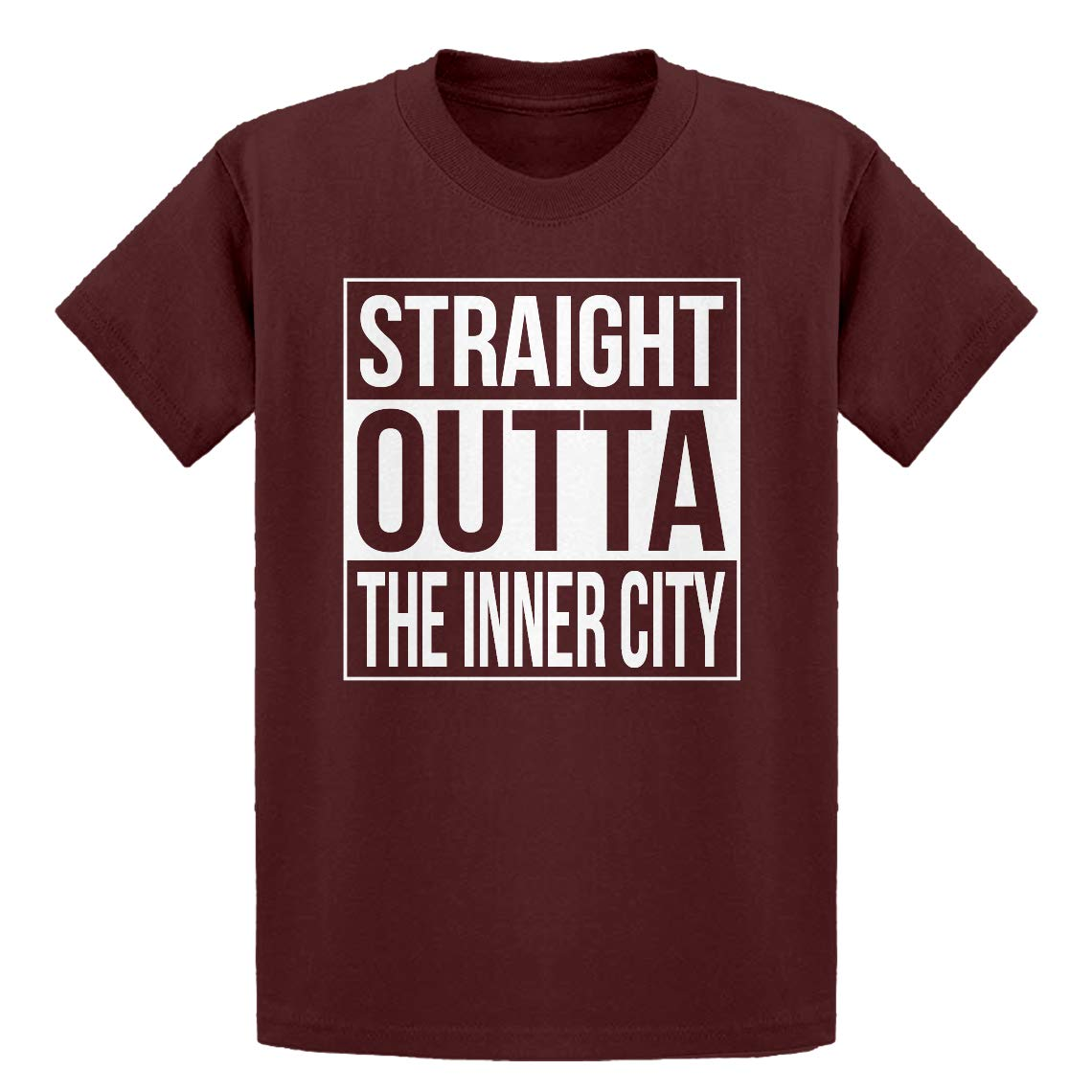 Indica Plateau Youth Straight Outta The Inner City Kids T-Shirt
