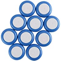 EKIND 30 PCS Safety Foam Refill Bullets for Nerf Vortex Disc Blaster Ammo Praxis Nitron Vigilon (Blue)