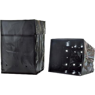 Hydrofarm HGB1GAL Grow Bag 1 Gallon, 1 Pack of 25 : Planting Grow Bags : Industrial & Scientific