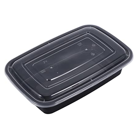 Fdit 10 recipientes de plástico para almuerzo, microondas, para ...