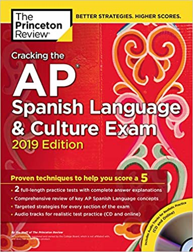 Amazon com: Cracking the AP Spanish Language & Culture Exam