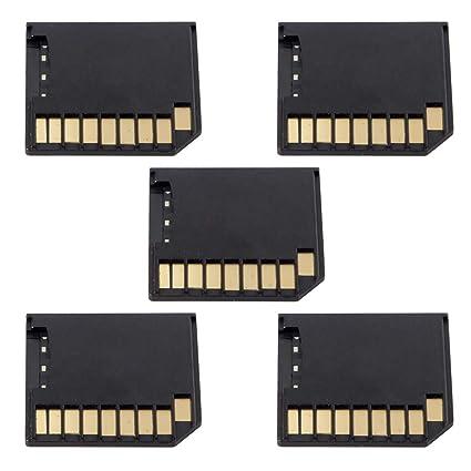 cablecc Micro SD TF a Tarjeta SD Mini Adaptador Kit para ...