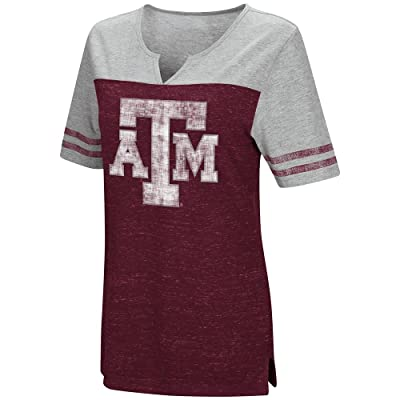 c957dedeae7d1 Womens Texas A M Aggies V-Neck Tee Shirt