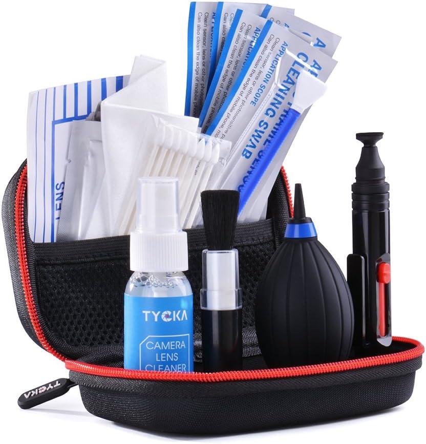 TYCKA Kit de Limpieza para Cámara y Sensor - El Mejor Kits Limpieza Objetivos del Mercado