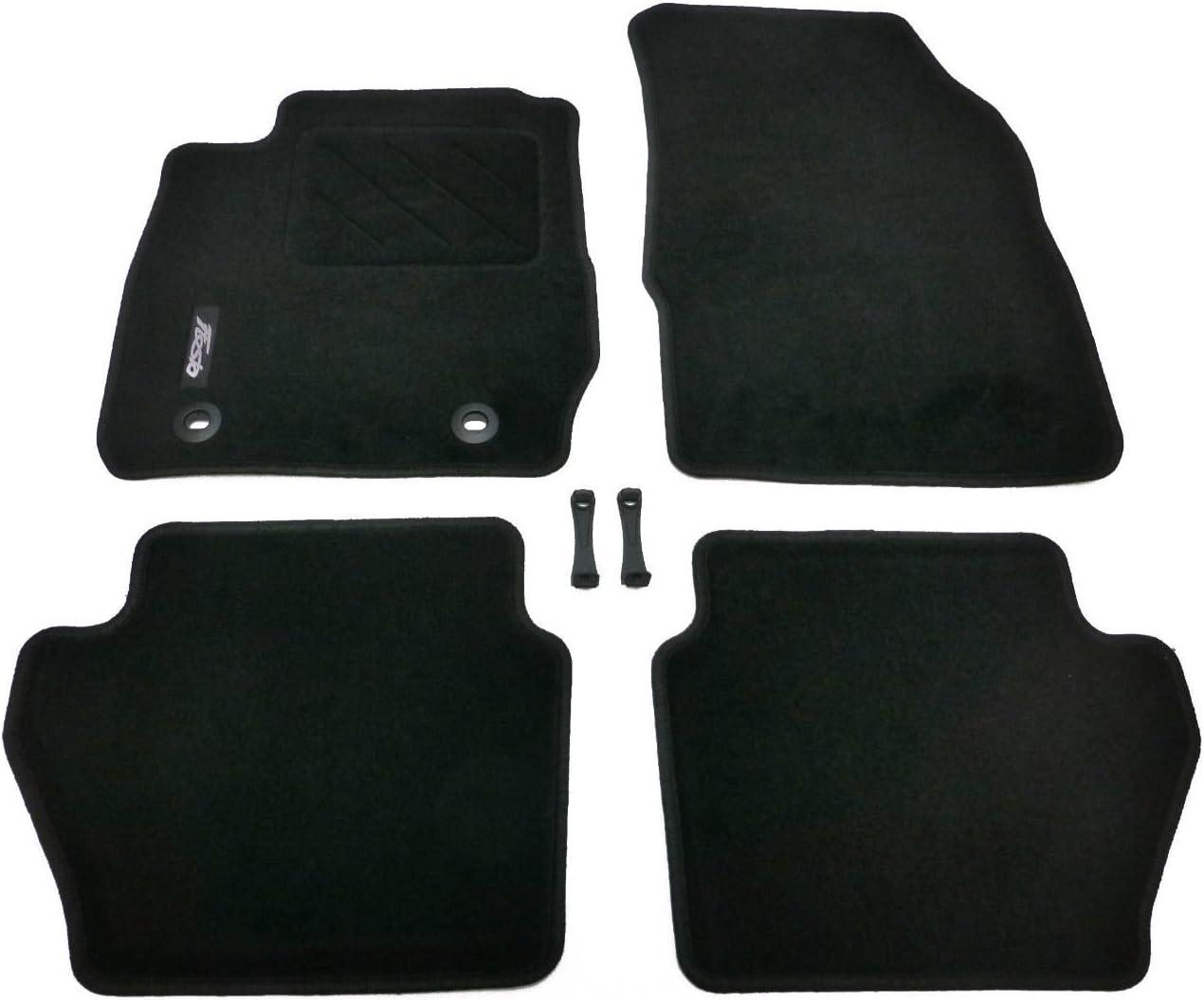 /état neuf Original pour Ford Fiesta MK7 1526897jusqu/à 02//2011 Kit de tapis de sol set de 4 pi/èces