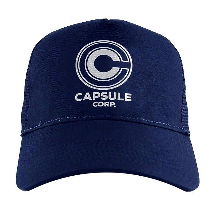 Cloud City 7 Capsule Corp Dragon Ball Z, Trucker Cap: Amazon ...