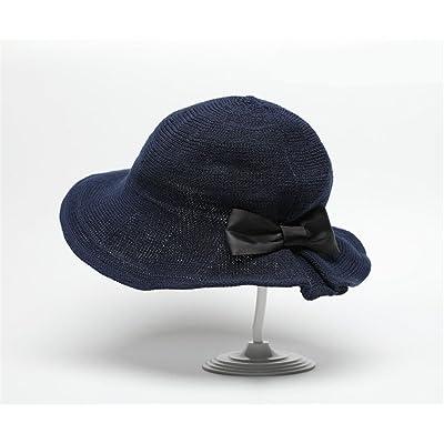 GXSCE Chapeau de pêcheur de mode, chapeau de soleil, chapeau UV neutre d'été, chapeau de plage de protection, chapeau de seau à larges bords, poche de maille respirable et casquette de pêche i