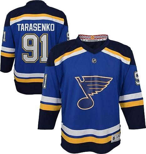 timeless design f4b73 b9ca9 Outerstuff Vladimir Tarasenko St. Louis Blues NHL Kids 4-7 Blue Home Player  Jersey (One Size 4-7)