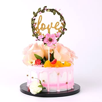 Amazon Com Sunny Zx Wedding Love Wedding Cake Topper Party