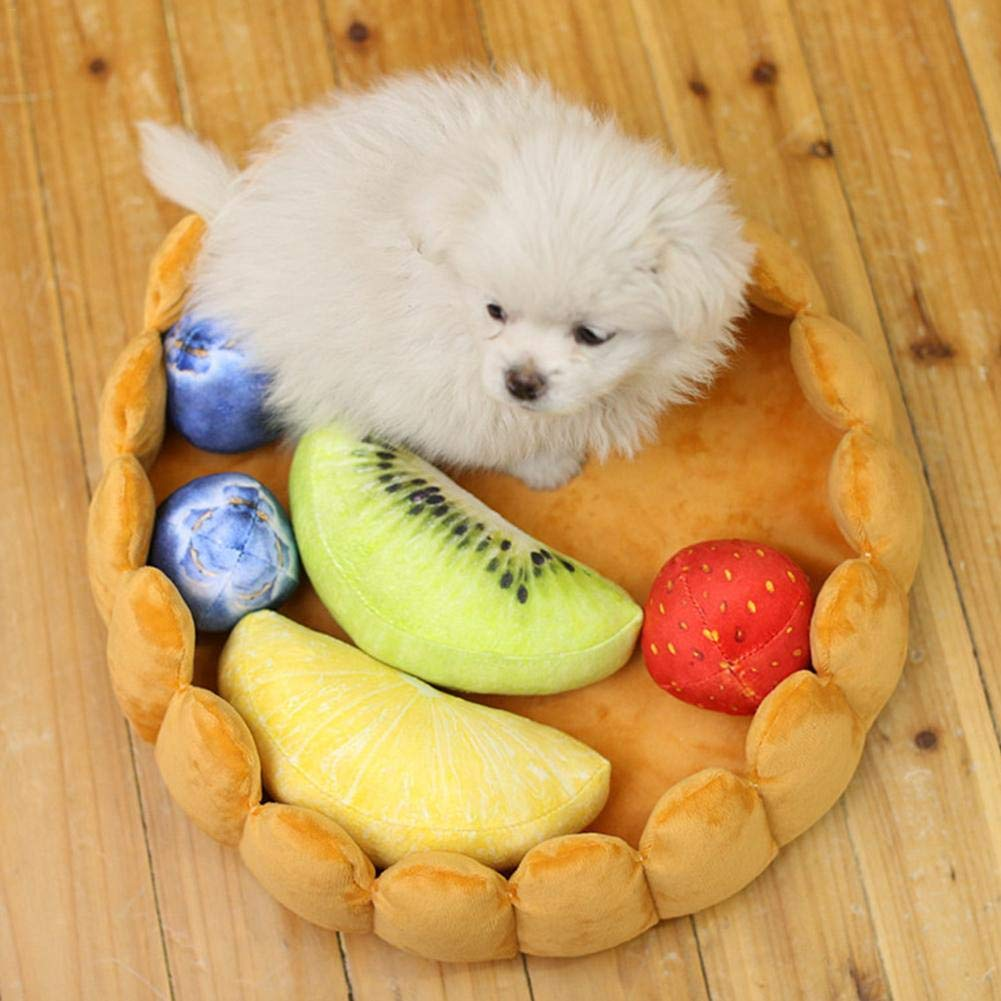 Storagc - Felpudo de Felpa para Mascotas, Perro, Gato, Arena para Invierno, Cama para Mascotas, Huevo de Frutas, caseta para Perro, Perro, Gato, ...