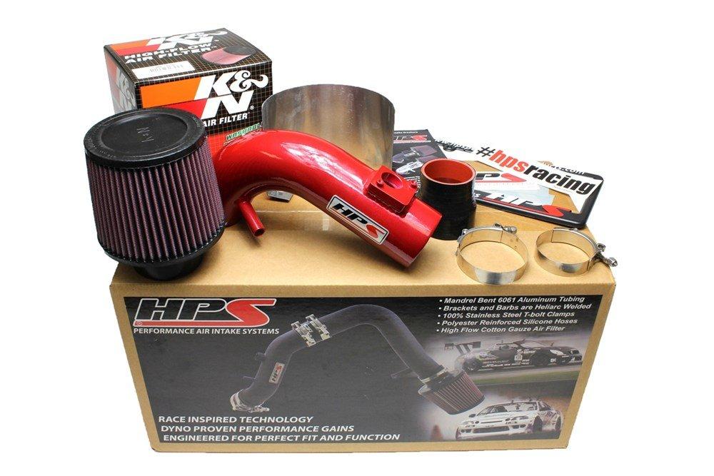 HPS Red Shortram Air Intake Kit Short Ram Cool SRI for 09-13 Toyota Matrix 12 11 10