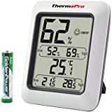 ThermoPro 温湿度計デジタル 湿度計 温度計 最高最低温湿度表示 気温計室内 TP50