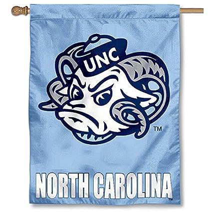 University Of North Carolina Tar Heels UNC House Flag
