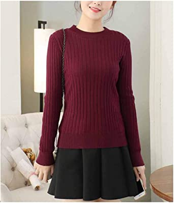 Suéter de Terciopelo Grueso para Mujer Camisa de Fondo Forro de Terciopelo Suéter Forrado con Jersey cálido Suéter Grueso: Amazon.es: Ropa y accesorios