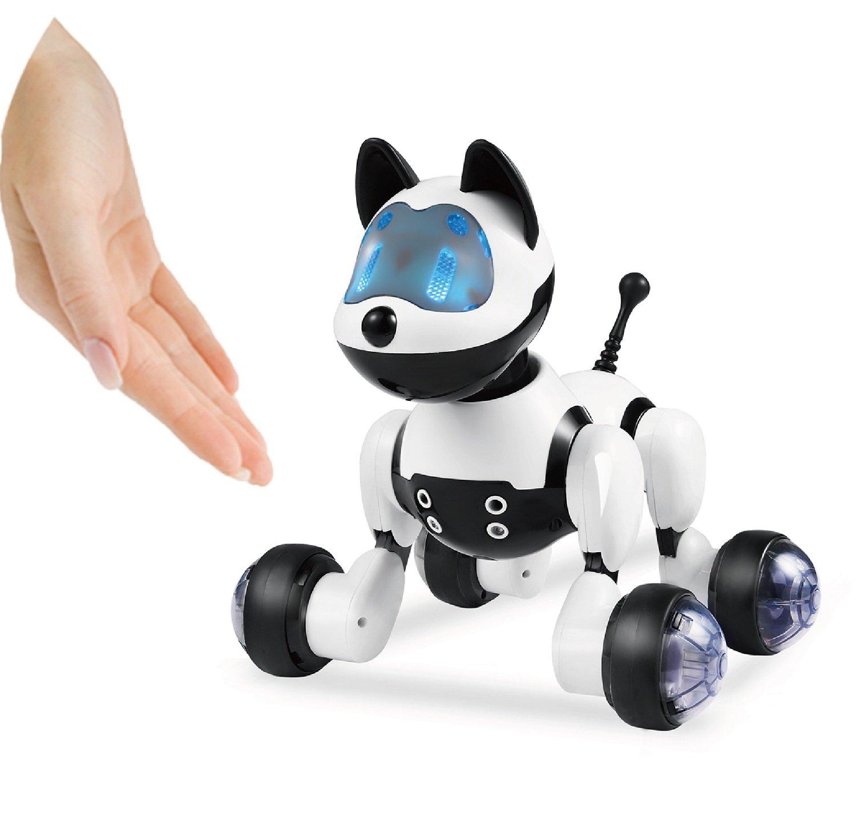 Hi-Tech Wireless Remote Control Robot Dog Smart Interactive Puppy Senses Gesture, Sings, Dances for Boys, Girls, Kids and Children by HI-TECH OPTOELETRONICS CO., LTD. (Image #4)