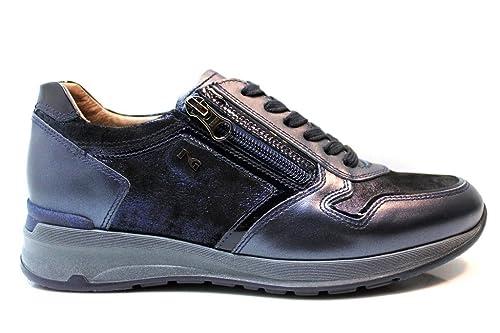Sneaker NERO GIARDINI A719222D Color Blu