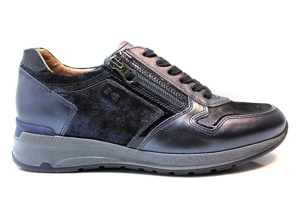 Nero Giardini A719222D Blu Sneakers Scarpe Donna Calzature Comode  Blu