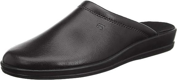 Rohde Lekeberg Herren Pantoffeln Hausschuhe Schuhe 1550 braun, Schuhgröße:43 EU