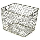 Claudio Industrial Country Market Metal Baskets - Set of 4
