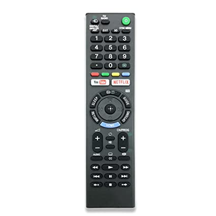 Amazon com: Remote Control for Sony LED TV with YouTube