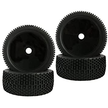 Baoblaze 4pcs 1/8 Buggy On-road Tire Tyre RC Ruedas para Redcat HSP FS Racing Coche: Amazon.es: Juguetes y juegos