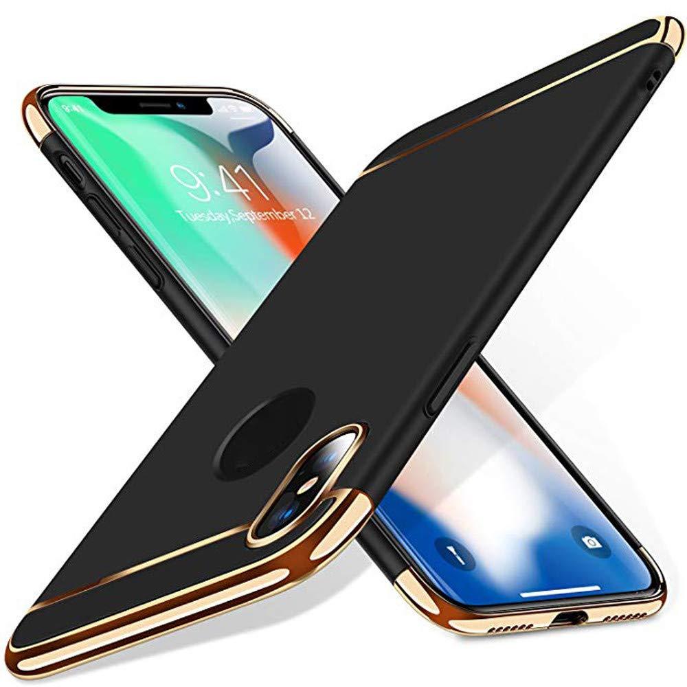 iPhone XR//XS //XS Max H/ülle Blau, XS MAX 6.1//5.8//6.5 Zoll TPulling Luxus D/ünne Galvanische Dreistufig Hart H/üllenabdeckung Fall f/ür iPhone XR//XS //XS Max