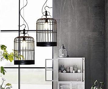 Moderne Lampen 53 : Moderner klassiker minimalistischen schwarz schmiedeeisen vogel