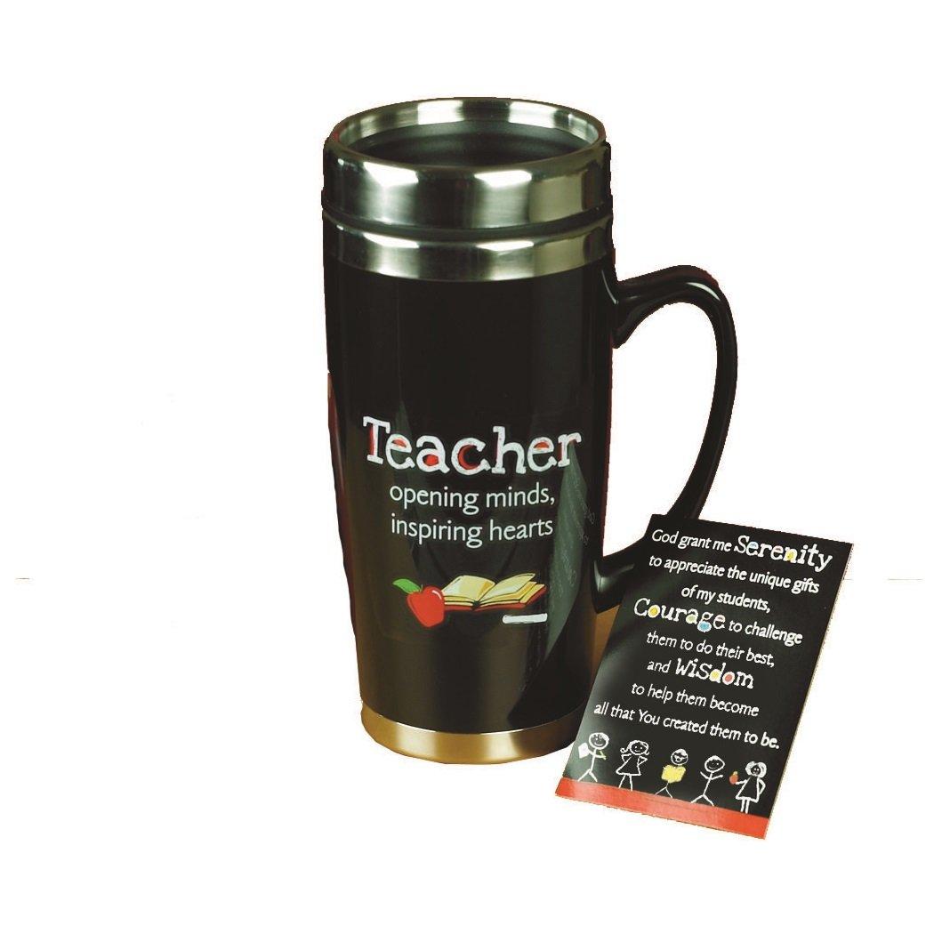Teacher Travel Mug W/Card by Abbey Gift