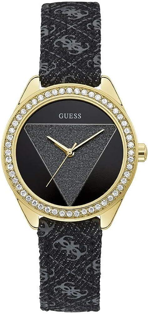 Guess Reloj Tri Glitz W0884L11 - Reloj de Pulsera para Mujer