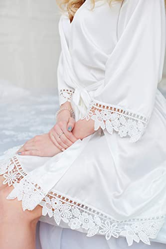 d984bdf1320 Bridal Robe, Silk Bridesmaid Robes, Wedding Robe, Bridal Party Gift,  Bridesmaid Robe