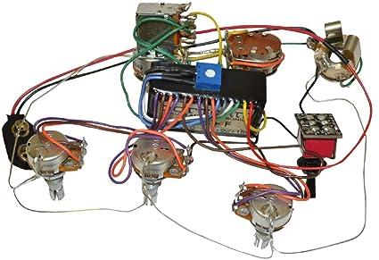 Bartolini HR-5.4AP/918 Preamp Harness - 3-Band EQ w/ 5 Control Knobs on