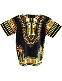 BRAND African Dashiki Shirts Collection, Several Colors, 100% Cotton, M - XL Size.