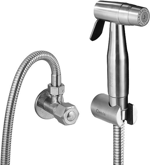 Ciencia Hand Held Bidet Sprayer Premium Stainless Steel Sprayer Shattaf Complete Bidet Set For Toilet Hand Bidet Sprayer For Toilet Ws024af6 Bathroom Fixtures Amazon Canada